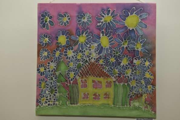 """Dienos centro """"Šviesa"""" lankytojų tekstilės darbų paroda """"Margas Pasaulis"""""""